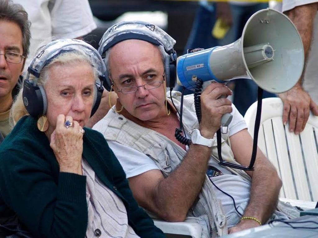 Juan Carlos Cremata y su madre, la realizadora Iraida Malberti
