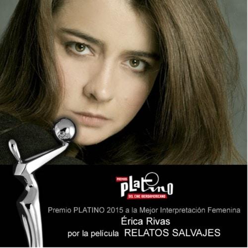 PREMIOS PLATINO 2015-ACTRIZ