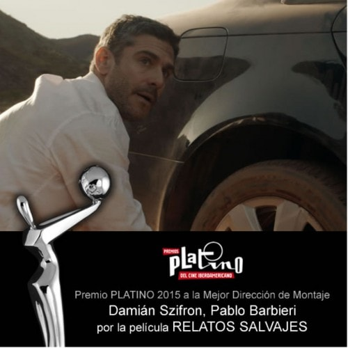 PREMIOS PLATINO 2015-MONTAJE