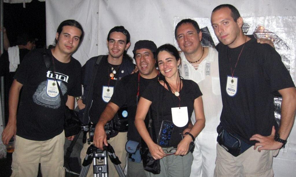 Con parte de mi equipo de trabajo en El Salvador