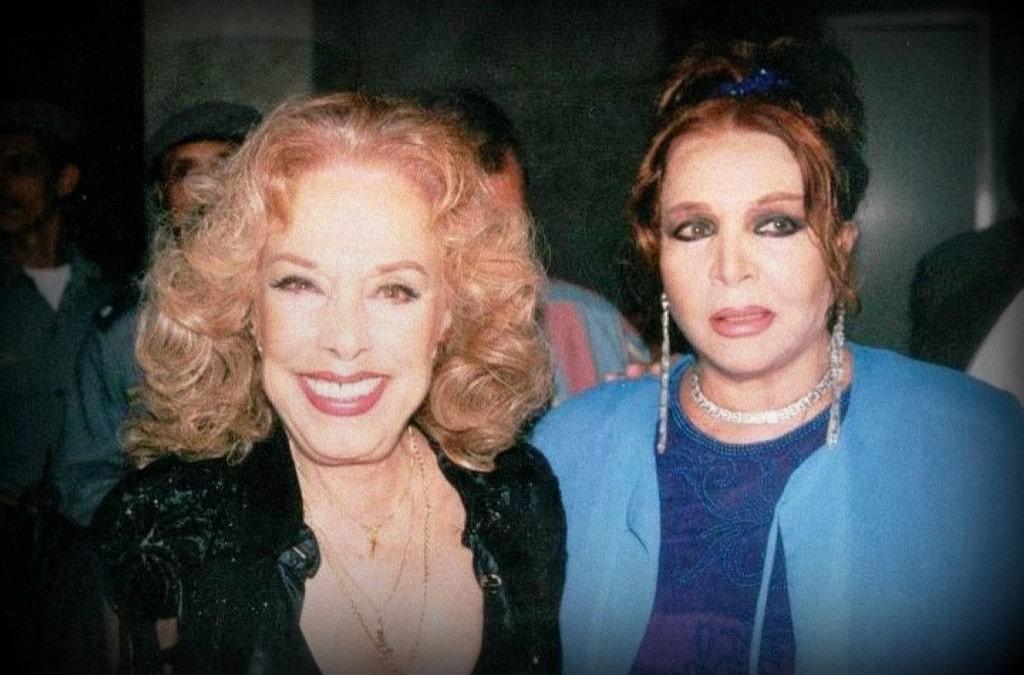 Rosa Fornes y Sara Montiel