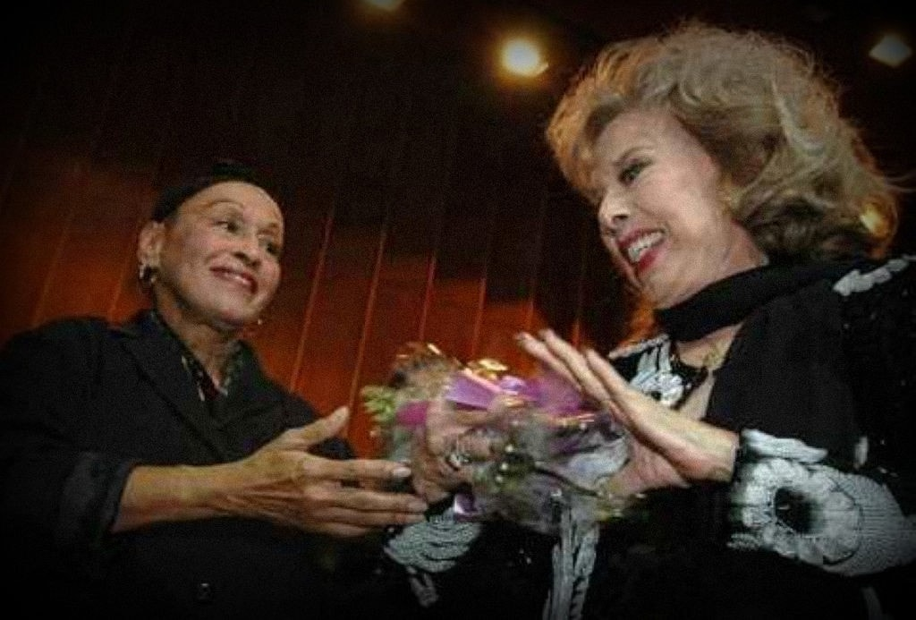 Rosa Fornes y Omara Portuondo