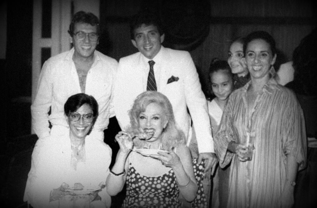 Rosa Fornes, Consuelo Vidal, Alfredito Rodriguez y Ramoncito Veloz