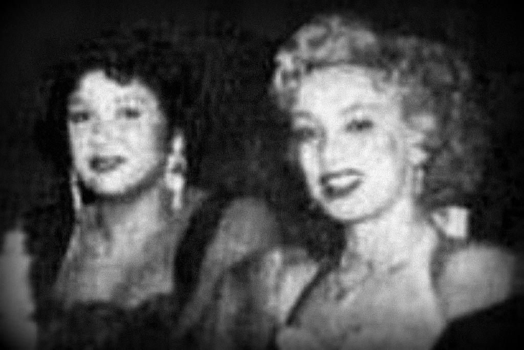 Rosa Fornes y Olga Guillot
