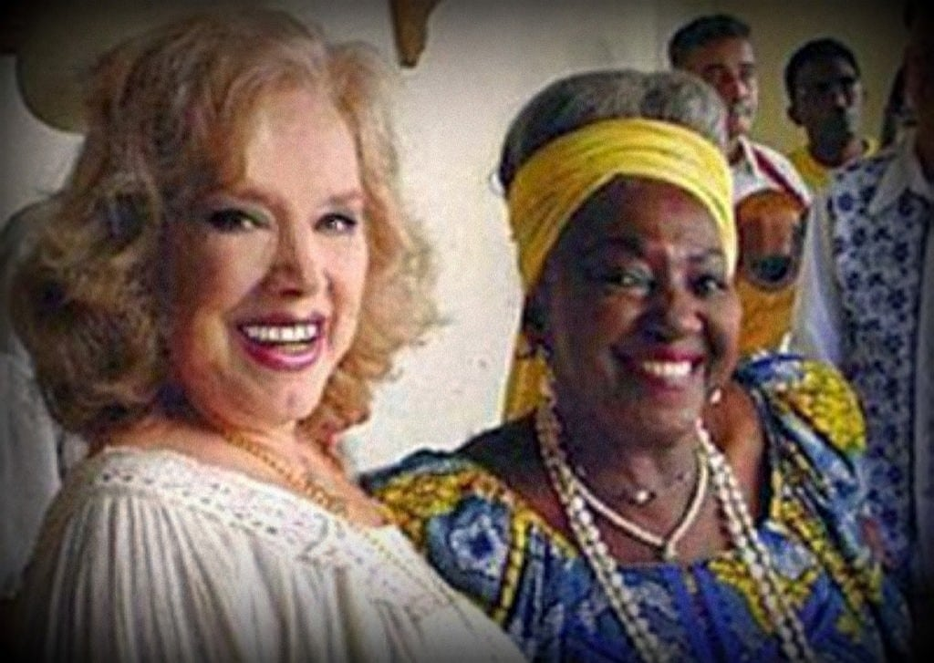 Rosa Fornes y Candita Batista
