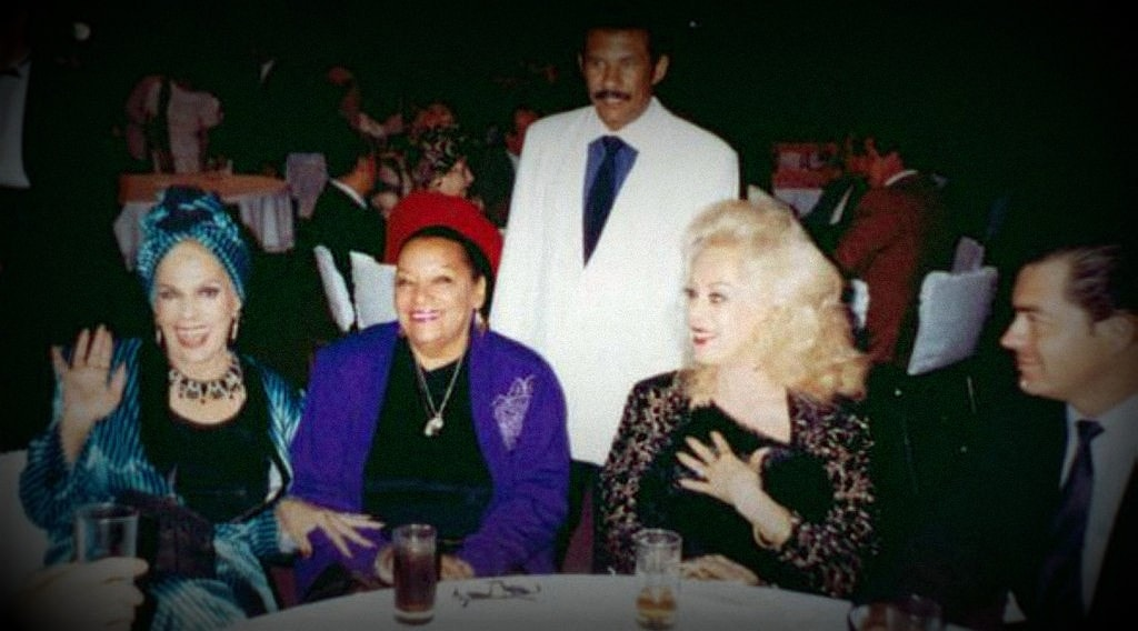 Rosa Fornes, Elena Burque y Ninon Sevilla