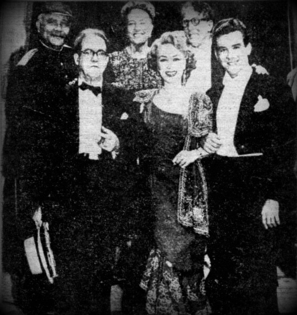 Rosa Fornes, Gonzalo Roig y Armando Bianchi